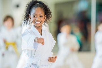 Practicing Martial Arts