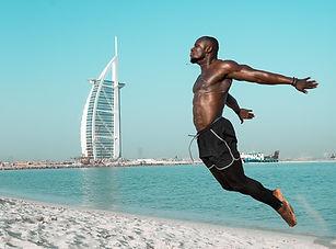 Workout on Beach