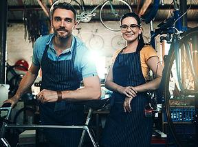 Boutique de réparation de vélos
