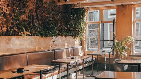 Restaurante vazio