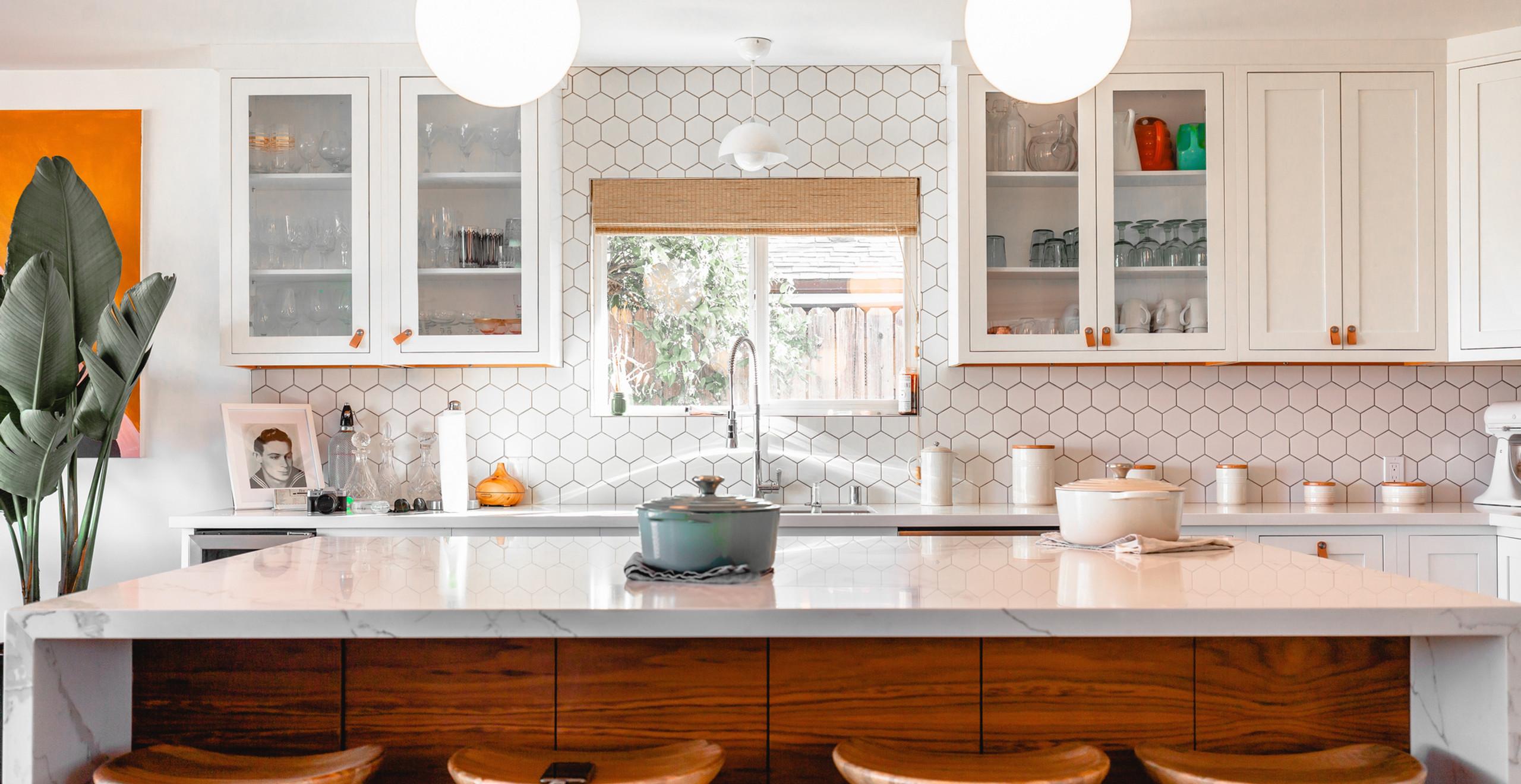 Homey kitchen design