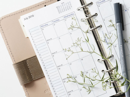 Adjusting Your Writing Schedule