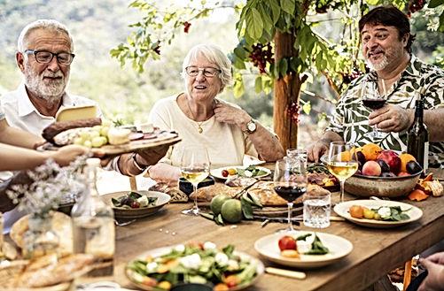Déjeuner en famille