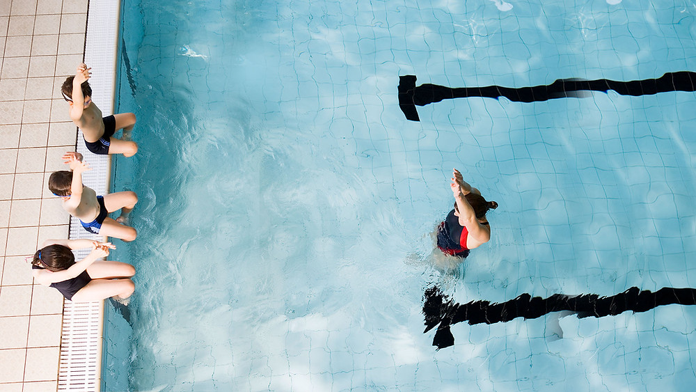 Swimming lessons help prevent accidents