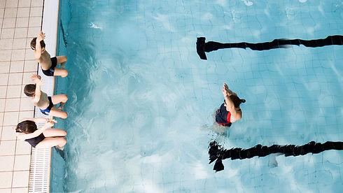 Schwimmunterricht