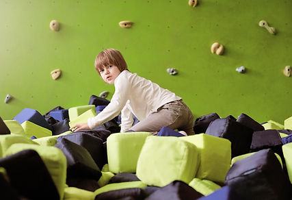 Indoor Rock Wall in Playworld Seattle