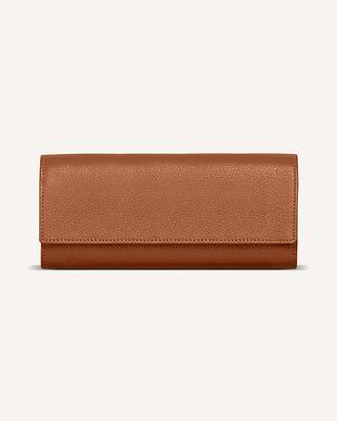 ブラウンレザー財布