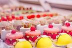 Pâtisseries colorées