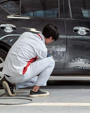 Polishing a Car