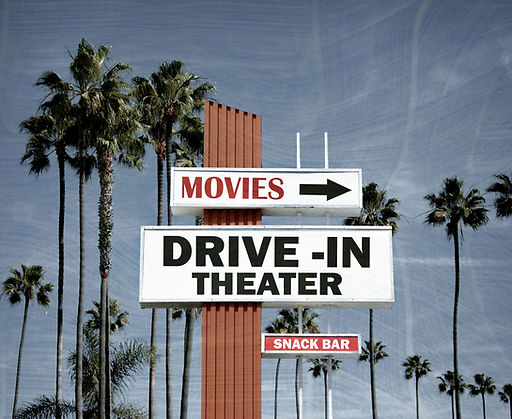 Drive-in Sign