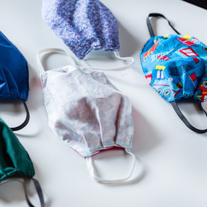 Baby Wearing Pollution Mask