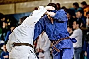 Combat de judokas