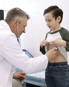 Examining a Child