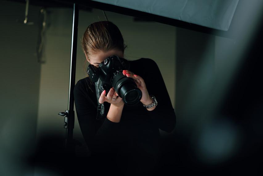 Photographe de studio