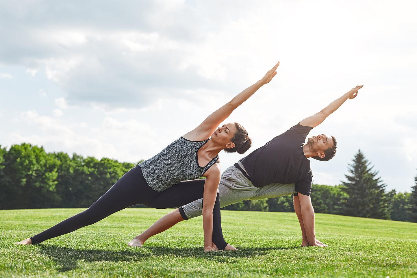 Yoga in Park