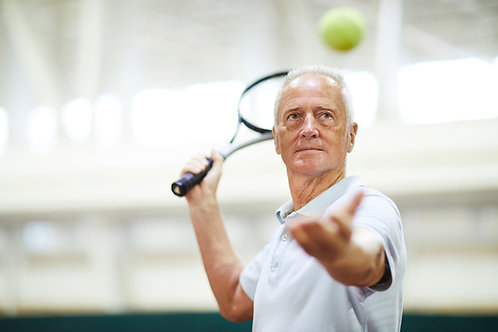 Senior Platinum Tennis Membership