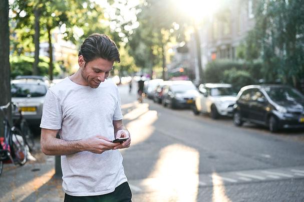Client en ligne mobile