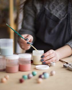 Artista Pintura Joyas