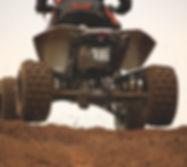 ATV en la suciedad