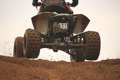 ATV op vuil