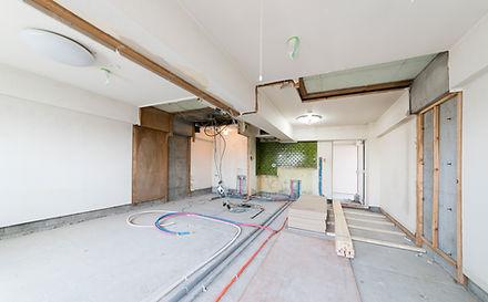 マンションの内装工事