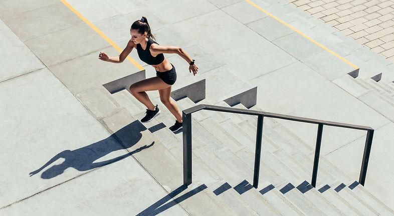 Correr por las escaleras
