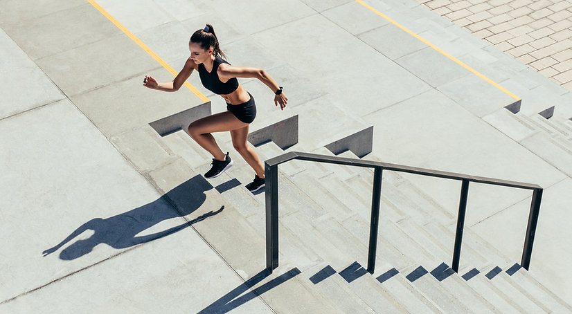 Running Up the Stairs