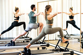 Pilates Class on Reformers