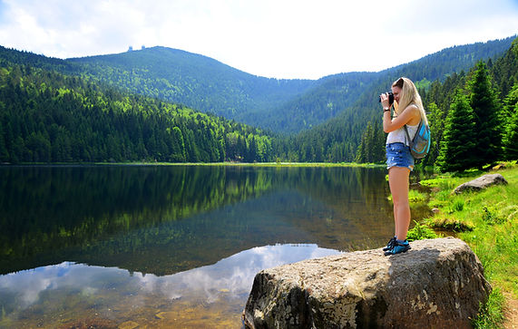 Photographing the Lake