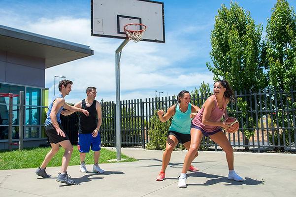 Social Basketball Game