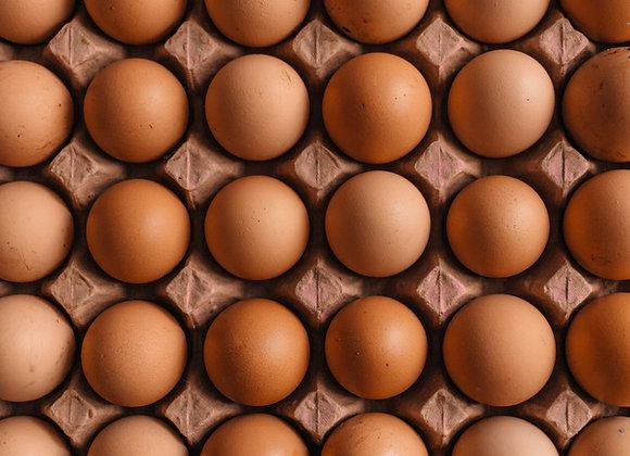 Free Range Eggs, 6 LOCAL FARM