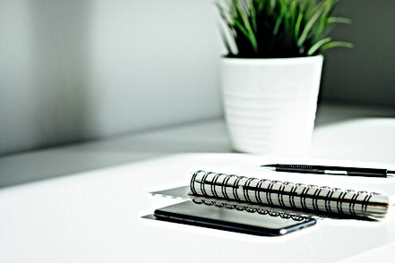 Organisierter Schreibtisch
