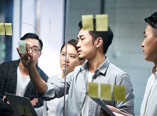 Brainstorming d'affaires