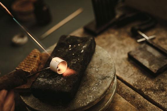 Jewelry Making Over Heat
