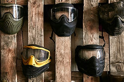 Máscaras de paintball
