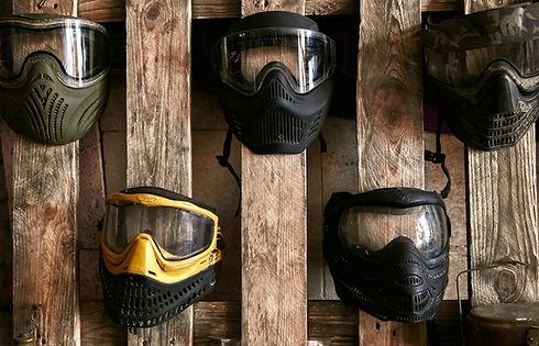 Masques de paintball