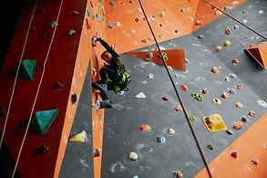 Kid Climbing Wall