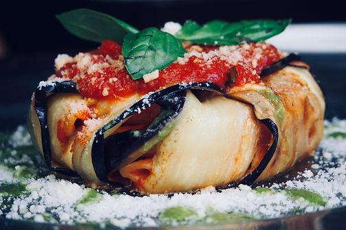 Aubergine mit Parmesan