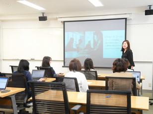 ひまわりメンバーが授業の講師として参加しました!