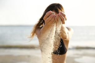 Renverser du sable