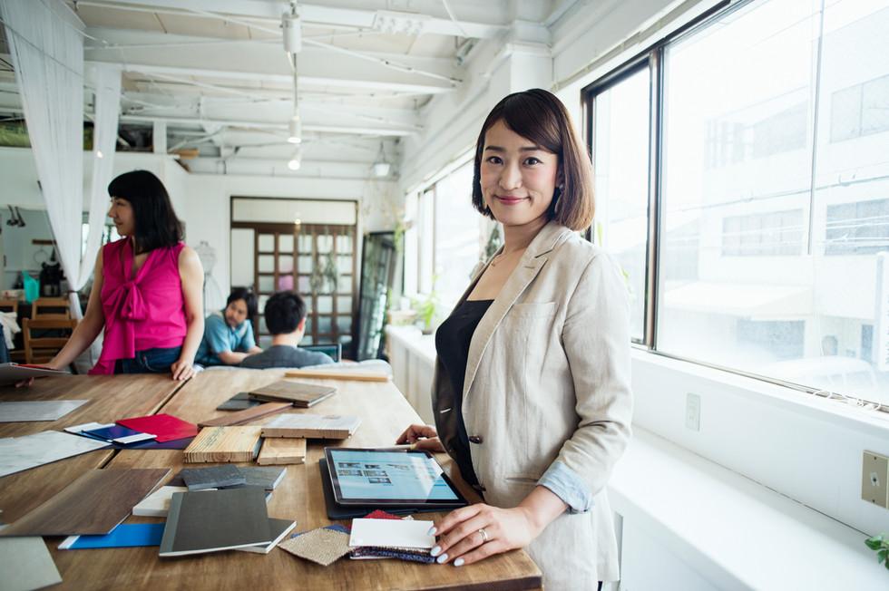 Female Interior Designer