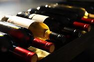 Weinflaschenauswahl