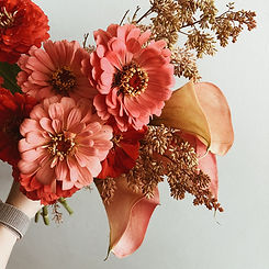 Orange Theme Bouquet