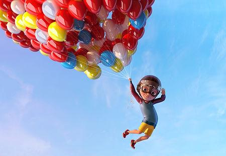 Мультфильмы в воздухе