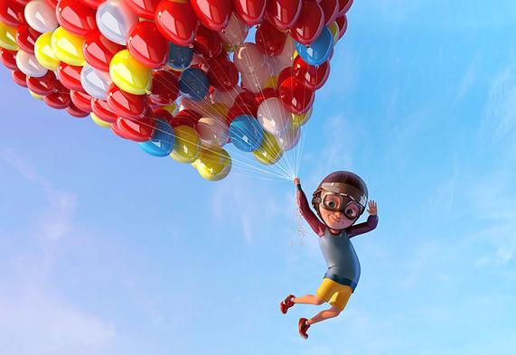 Cartoons in the Air