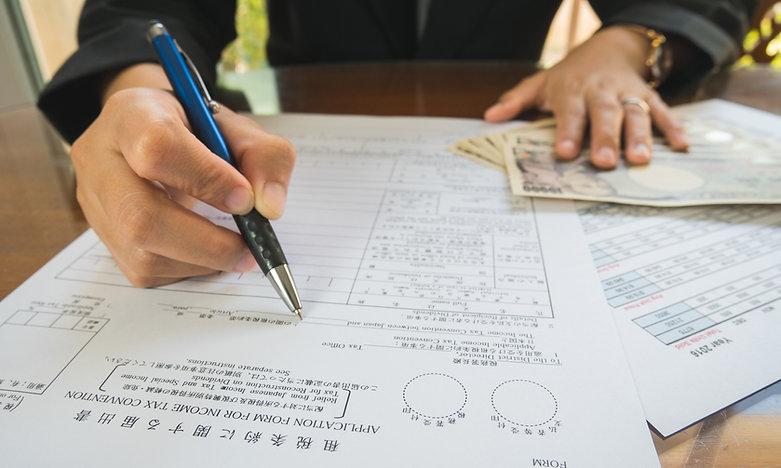 Steuereinkommensberichte