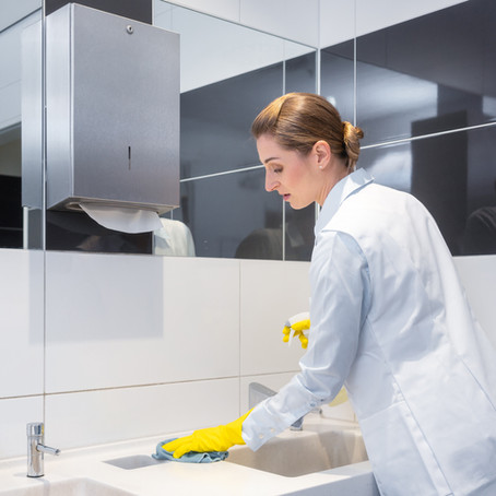 How to Clean Your Bathroom Like a Professional (part 1)