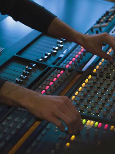 Recording, Mixing & Music Editing