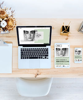 Freelance web designer Manchester Desk