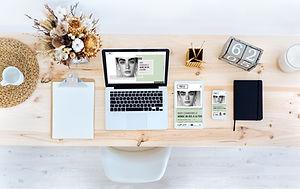 Bureau d'une blogueuse